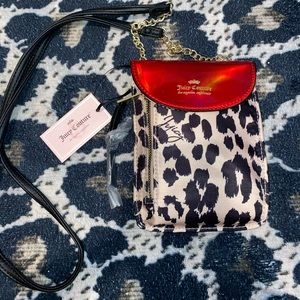 Holographic Cheetah Juicy Couture Crossbody